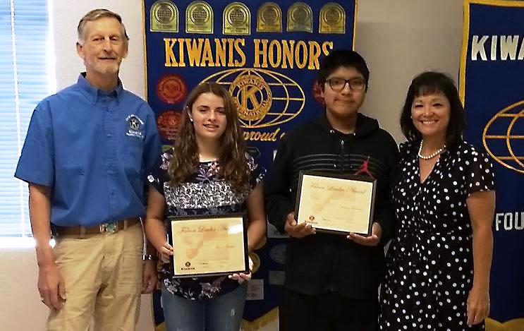 Kiwanis Honors