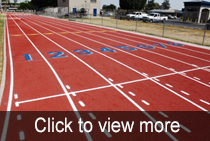 Tulare Western High School Track Resurfacing