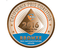 California PBIS Coalition- 2016 Bronze PBIS Implementation Award