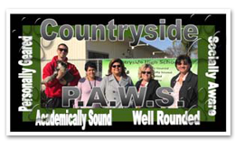 Countryside - P.A.W.S. - Personally geared, Academically Sound, Well Rounded, Socially Aware