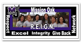 Mission Oak - R.E.I.G.N.- Respect, Excel, Integrity, Give Back, Network