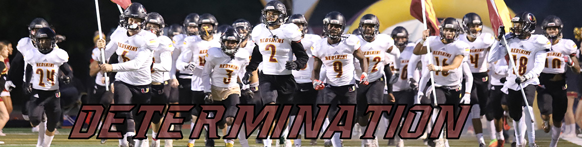 Determination - Tulare Union High School Football Team