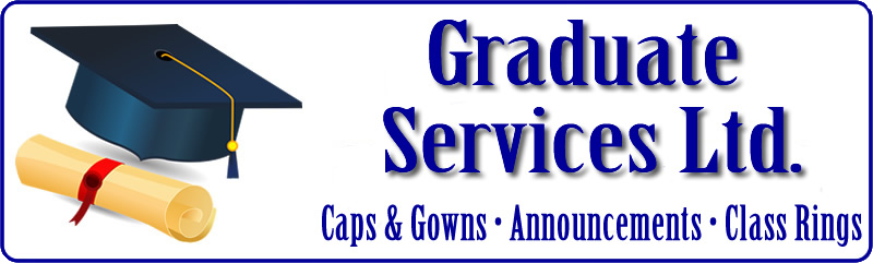 Graduate Services Ltd. Caps and Gowns, Announcements, Class Rings