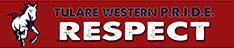 Tulare Western P. R. I. D. E. Respect