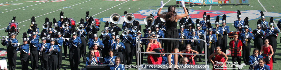 Marching band - Reserve your yearbook at www.jostens.com