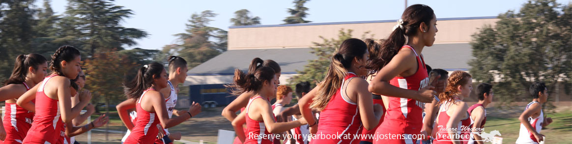 Track team running - Reserve your yearbook at www.jostens.com