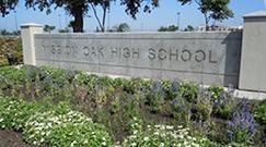 Mission Oak High School Sign