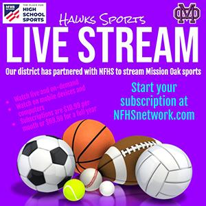 Hawks Sports Live Stream flyer