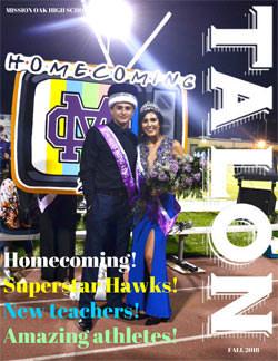 Fall 2018 Talon Newsletter - Homecoming! Superstar Hawks! New teachers! Amazing athletes!