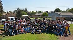 Tulare FFA Students