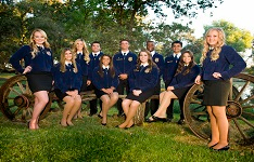 Tulare FFA Student Officers