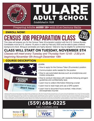 Census Job Preparation Class