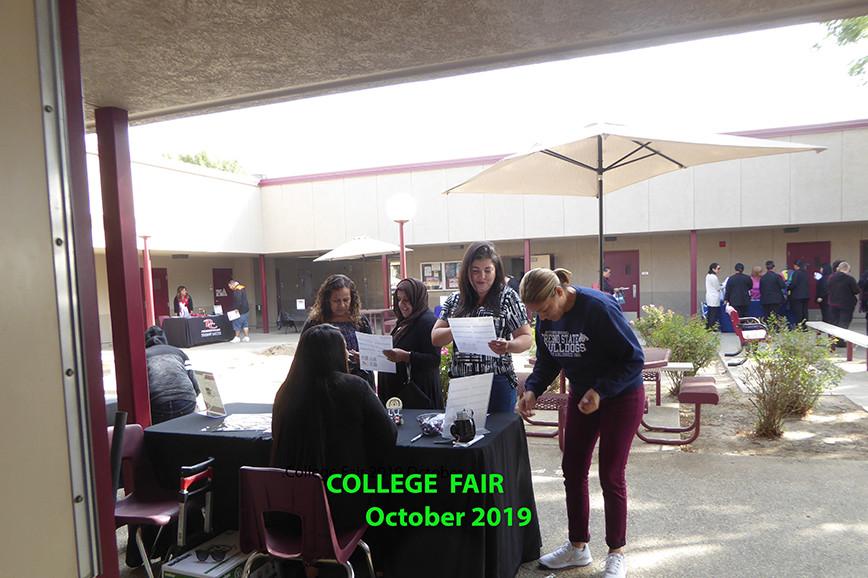 College Fair - October 2019