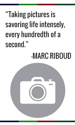 Taking pictures is savoring life intensely every hundredth of a second. -Marc Riboud