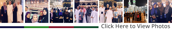 Click here to view more photos of Noble's Ummrah Trip