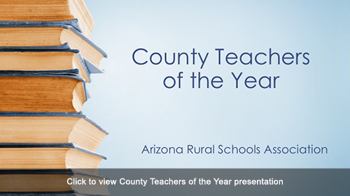 County Teachers of the Year presentation slides