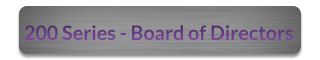 200 Series - Board of Directors