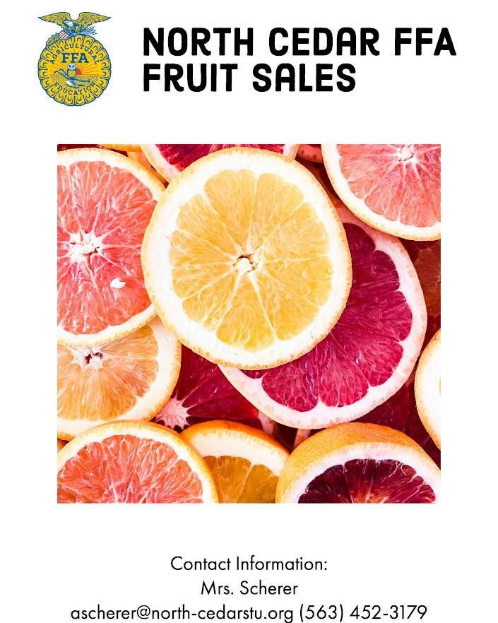 North Cedar FFA Fruit Sales