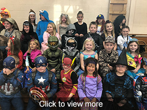 Photos of Halloween at Lowden Elementary