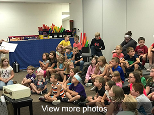 View mroe photos of the summer reading celebration