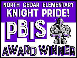 North Cedar Elementary Knight Pride! Classroom of the Week