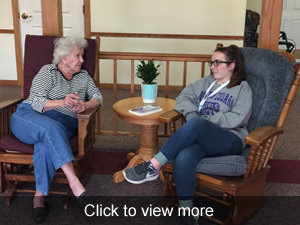 View more photos of the visit to Prairie Hills Assistive Living Center