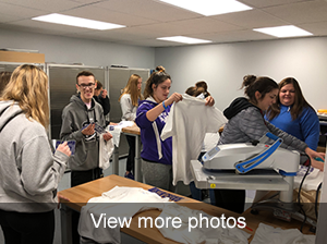 view more photos of FBLA students working