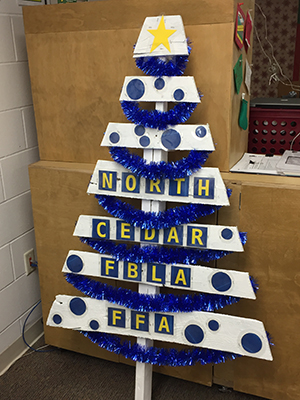 North Cedar FBLA FFA Christmas Tree