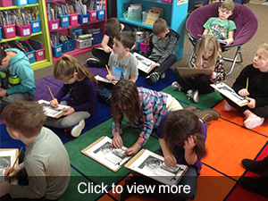 Click to view more photos from first graders in the classroom