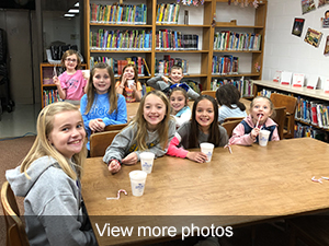 View more photos of the hot chocolate party at Lowden Elementary.