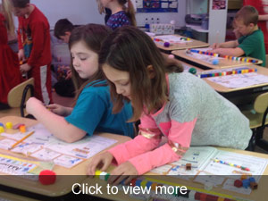 View more photos about Mrs. Rouse's first grade class activity