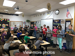 view more photos of the readers theater - One Giant Leap