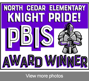 View more photos of our PBIS award recipients