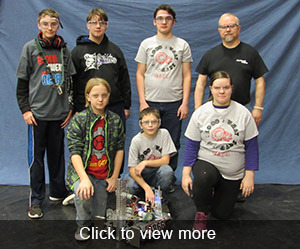 More photos and videos of the Robotics Competition