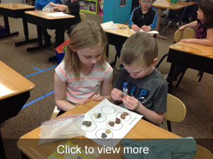 View more photos about the rock sorting activity.