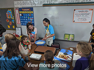 View more photos of the pancake science project