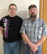 Lowden custodians, Josh and John