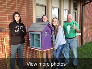 view more photos of the Lending Box