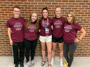FBLA 2019-20 Officer Team