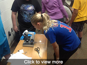 Photos of new microscopes