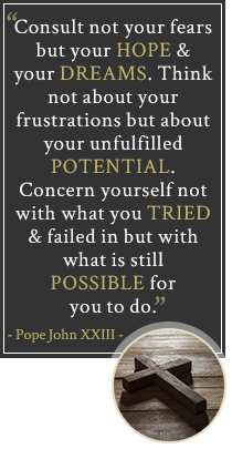 Quote from Pope John XXIII