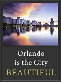 Orlando is the City Beautiful