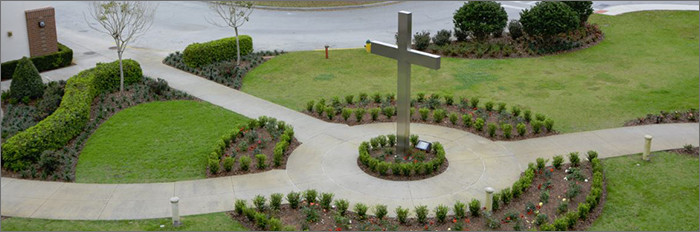 Bishop Moore campus grounds