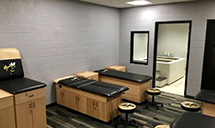 trainers room