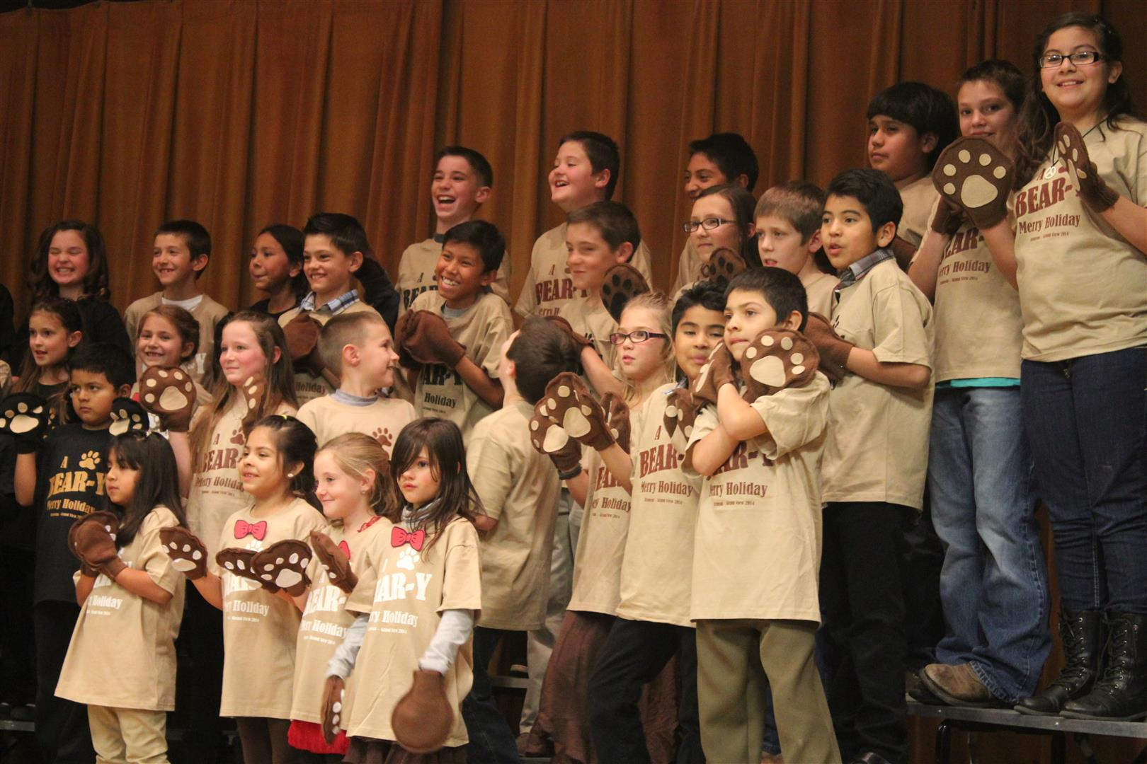 Bruneau Elementary Christmas Play