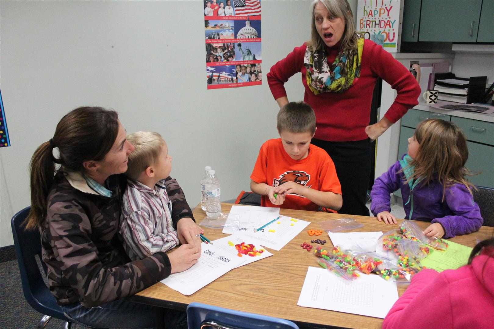 Bruneau Elementary School Math Night
