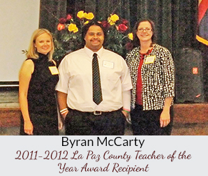La Paz Country Teacher of the Year