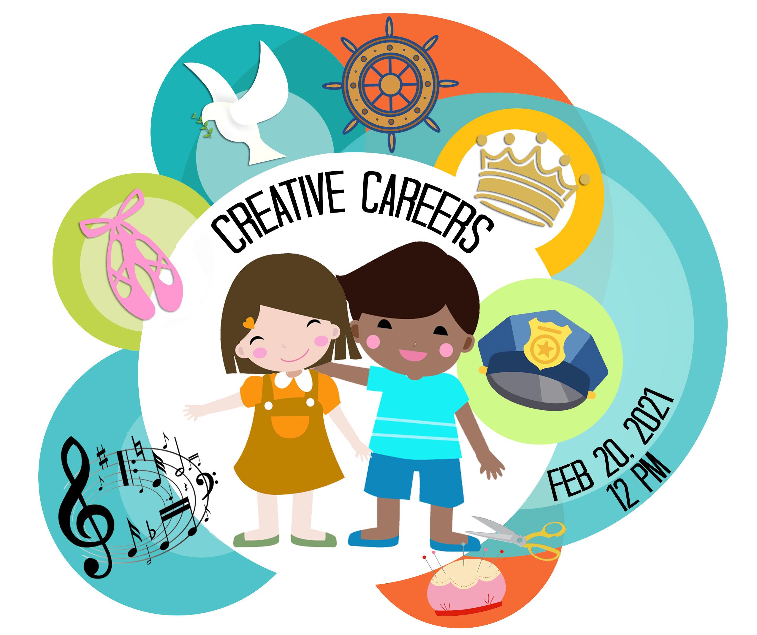 Creative Careers Feb 20, 2021 12:00pm