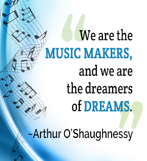 Arthur O'Shaughnessy quote