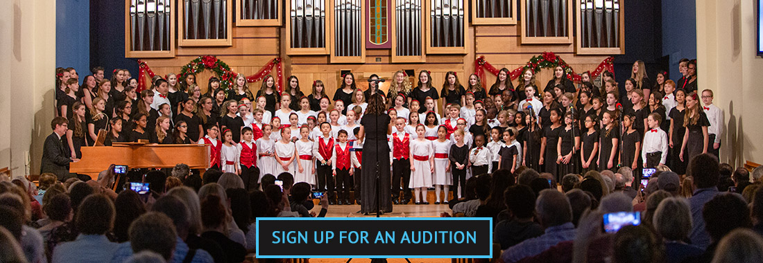Sign up for an audition